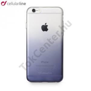Apple iPhone 6 4.7`` / Apple iPhone 6S 4.7`SHADOW telefonvédő gumi / szilikon (ultravékony, árnyékhatás) ÁTLÁTSZÓ/FEKETE