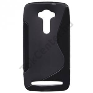 Asus Zenfone 2 Laser (ZE550KL) Telefonvédő gumi / szilikon (S-line) FEKETE