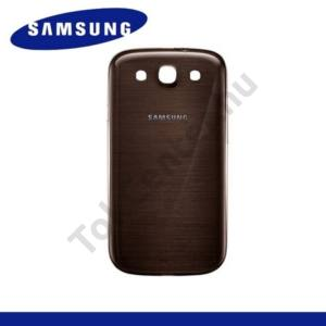 Samsung Galaxy S III. (GT-I9300) Akkufedél BARNA