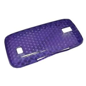 Nokia 308 Asha Telefonvédő gumi / szilikon (gyémántmintás) LILA