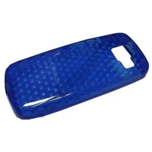 Nokia 110 Telefonvédő gumi / szilikon (gyémántmintás) KÉK