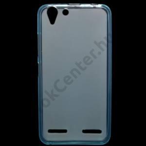 Lenovo Vibe K5 / Vibe K5 Plus Telefonvédő gumi / szilikon (fényes keret) KÉK