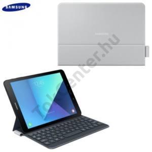 SAMSUNG Galaxy Tab S3 9.7 BLUETOOTH billentyűzet (asztali tartó funkció, QWERTY, angol nyelvű) SZÜRKE