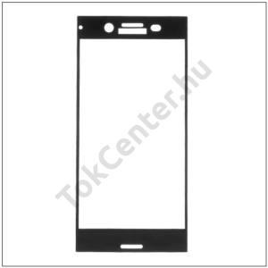 NOKIA 7 Képernyővédő fólia (1 db-os, 2.5D full cover, íves, ultravékony előlap, edzett üveg, karcálló, 0.33 mm, 9H) FEKETE