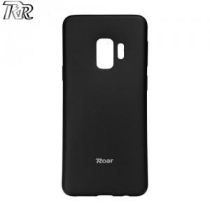 SAMSUNG Galaxy S9 (SM-G960) ROAR ALL DAY telefonvédő gumi / szilikon (matt) FEKETE