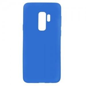 SAMSUNG Galaxy S9 Plus (SM-G965) Telefonvédő gumi / szilikon (matt, fényes keret) KÉK
