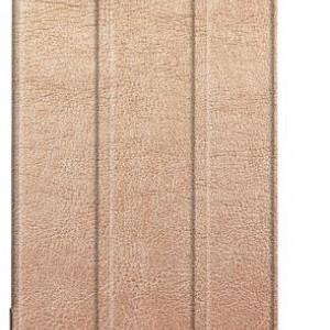 HUAWEI MediaPad M5 8.4 Tok álló, bőr (FLIP, oldalra nyíló, TRIFOLD asztali tartó funkció) ARANY