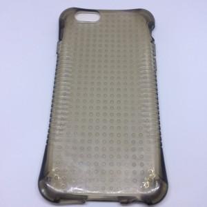 Apple iPhone 6 4.7 /Apple iPhone 6S 4.7 Légpárnás sarok, Pont minta, FEKETE