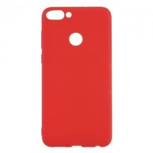 HUAWEI P Smart (Enjoy 7S) Telefonvédő gumi / szilikon (matt) PIROS