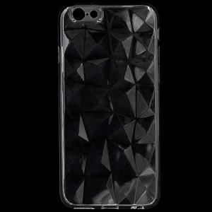 APPLE IPhone 6 4.7 /APPLE IPhone 6S 4.7 Telefonvédő gumi / szilikon (3D, gyémánt minta) ÁTLÁTSZÓ