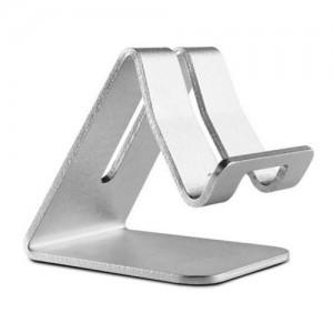 Asztali állvány (alumínium, 75 x 63 x 75 mm) EZÜST