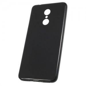 SAMSUNG Galaxy A6 (2018) SM-A600F Telefonvédő gumi / szilikon (matt, fényes keret) FEKETE