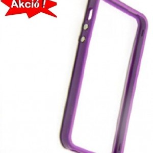 Apple iPhone 5 / iPhone 5S / iPhone SE Műanyag telefonvédő (bumper) LILA + AJÁNDÉK első és hátsó fólia