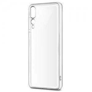 HUAWEI P20 Lite 4-OK telefonvédő gumi / szilikon (ultravékony) ÁTLÁTSZÓ