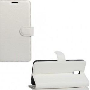 Asus Zenfone 3 Deluxe (ZS570KL) Tok álló, bőr (FLIP, oldalra nyíló, asztali tartó funkció) FEHÉR