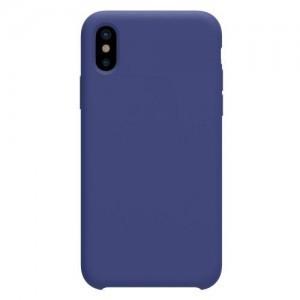 APPLE IPhone X 5.8 NILLKIN FLEX PURE telefonvédő gumi / szilikon (gumírozott) KÉK