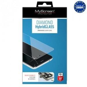 CAT S61 Képernyővédő fólia törlőkendővel (flexibilis üveg, karcálló, ütésálló, 8H, 0.15mm vékony) HYBRIDGLASS
