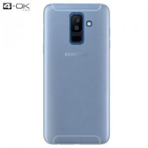 SAMSUNG Galaxy A6+ (2018) SM-A605F 4-OK telefonvédő gumi / szilikon (ultravékony) ÁTLÁTSZÓ