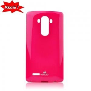 LG G3 S (D722) Mercury Telefonvédő gumi / szilikon PINK + AJÁNDÉK 2 db-os fólia (csomagban)