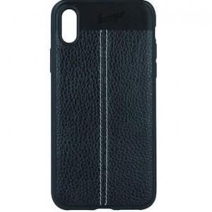 Beeyo Elegance Huawei Mate 10 Lite fekete műbőr hátlap tok