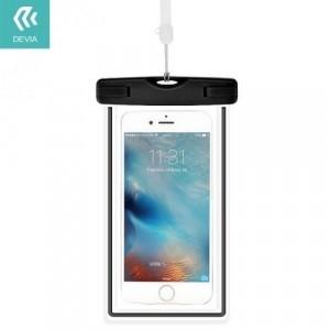 DEVIA RANGER vízhatlan/vízálló tok, AQUA (IPX8 vízállóság, nyakba akasztható, iPhone 7 Plus 5,5