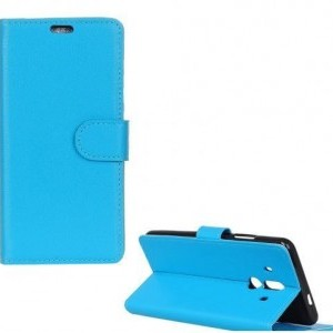 SAMSUNG Galaxy Note 9 Tok álló, bőr (FLIP, oldalra nyíló, asztali tartó funkció) VILÁGOSKÉK