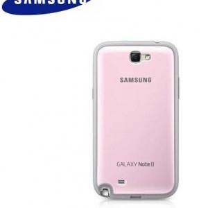 SAMSUNG Galaxy Note II (GT-N7100) Gyári Protective Cover+ RÓZSASZÍN műanyag telefonvédő, telefontok