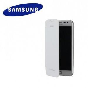 SAMSUNG Galaxy Note II (GT-N7100) Műanyag telefonvédő (oldalra nyíló) FLIP, FEHÉR (NFC-s)