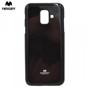 SAMSUNG Galaxy A6 (2018) SM-A600F MERCURY Goospery telefonvédő gumi / szilikon FEKETE