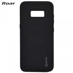 SAMSUNG Galaxy S8 (SM-G950) ROAR RICO ARMOR telefonvédő gumi / szilikon (közepesen ütésálló, műanyag hátlap, matt) FEKETE