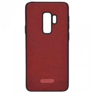 SAMSUNG Galaxy S9 Plus (SM-G965) Telefonvédő gumi / szilikon (ultravékony, közepesen ütésálló, bőrhatás) PIROS