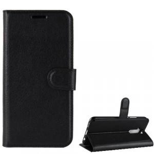 APPLE IPhone XR 6.1 Tok álló, bőr (FLIP, oldalra nyíló, asztali tartó funkció) FEKETE