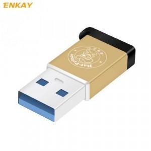 Adapter (USB 2.0, Type-C 3.1, töltéshez, adatátvitelhez, kulcstartóra tehető) ARANY