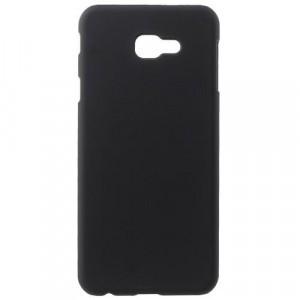 SAMSUNG Galaxy J4 Plus (J415F) Műanyag telefonvédő (gumírozott) FEKETE