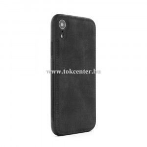 Forcell Denim Samsung G965 Galaxy S9 Plus fekete szilikon hátlap tok