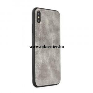 Forcell Denim Samsung N960 Galaxy Note 9 szürke szilikon hátlap tok