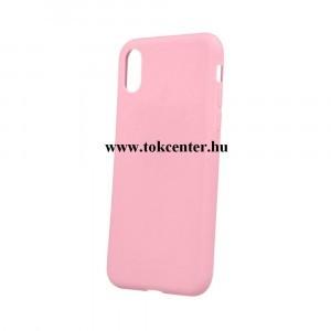 Matt APPLE IPhone XR 6.1 rózsaszín szilikon tok