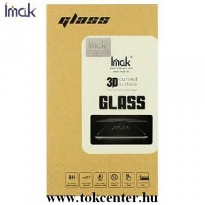 IMAK képernyővédő üveg (3D full cover, íves, 0.2 mm, karcálló, 9H) FEKETE Apple Watch 4 40mm