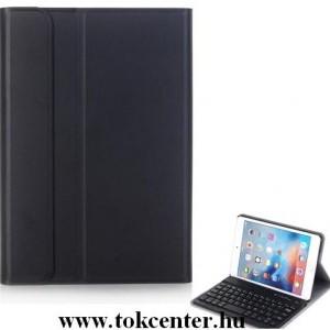 APPLE IPAD mini 4 Tok álló, bőr (FLIP, kivehető bluetooth billentyűzet, asztali tartó funkció, QWERTY, angol nyelvű) FEKETE