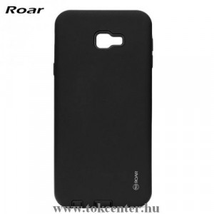 SAMSUNG Galaxy J4 Plus (J415F) ROAR RICO ARMOR telefonvédő gumi / szilikon (közepesen ütésálló, műanyag hátlap, matt) FEKETE