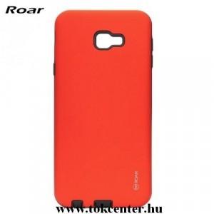SAMSUNG Galaxy J4 Plus (J415F) ROAR RICO ARMOR telefonvédő gumi / szilikon (közepesen ütésálló, műanyag hátlap, matt) PIROS