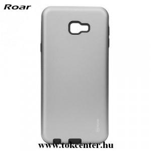 SAMSUNG Galaxy J4 Plus (J415F) ROAR RICO ARMOR telefonvédő gumi / szilikon (közepesen ütésálló, műanyag hátlap, matt) SZÜRKE
