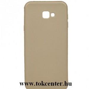 SAMSUNG Galaxy J4 Plus (J415F) Telefonvédő gumi / szilikon (matt) ARANY