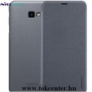 SAMSUNG Galaxy J4 Plus (J415F) NILLKIN SPARKLE műanyag telefonvédő (mikroszálas bőr flip, oldalra nyíló) FEKETE