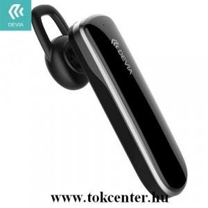 DEVIA SMART bluetooth fülhallgató MONO (v4.2, mikrofon, multipoint) FEKETE (EM017)