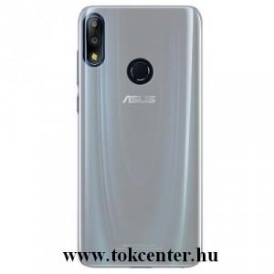ASUS Zenfone Max Pro (M2) ZB631KL Műanyag telefonvédő (gumírozott) ÁTLÁTSZÓ