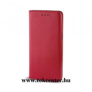 Sony Xperia XA1 piros mágneses szilikon keretes könyvtok