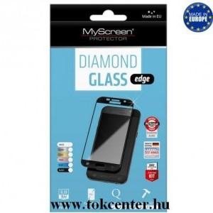SONY Xperia XA1 Ultra (G3212) MYSCREEN DIAMOND GLASS EDGE képernyővédő üveg (2.5D full cover, íves, ultravékony előlap, karcálló, 0.33 mm, 9H) ARANY