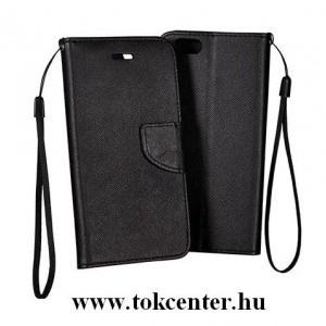 FANCY SONY Xperia XA1 Ultra (G3212) fekete szilikon keretes könyvtok