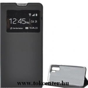 HUAWEI P30 Pro Tok álló, bőr (FLIP, oldalra nyíló, asztali tartó funkció, S-View Cover) FEKETE